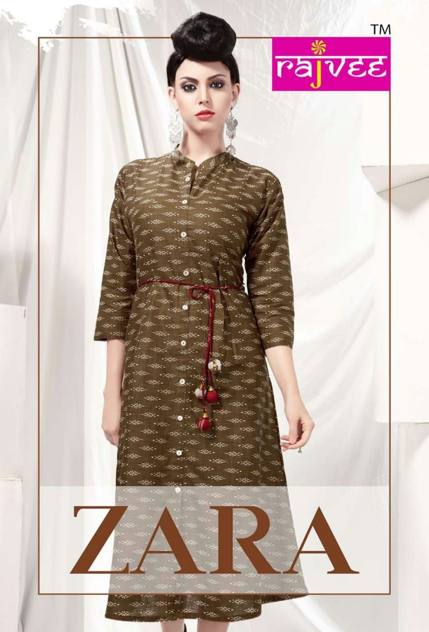 03ed923527 rajvee presents zara cotton kurtis wholesalers surat india #punjabisuits  #patialasuits #salwarkameez #salwarsuits #onlineshopping #womenfashion  #casualwear ...