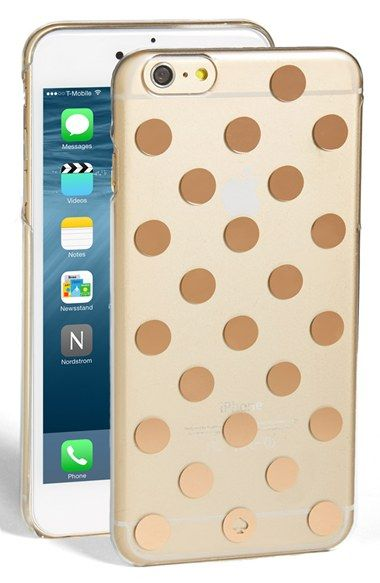 Free Shipping And Returns On Kate Spade New York Le Pavillion Iphone 6 Plus Case At Nordstrom Signature Polka Dots Add Stylish Shimmer To A