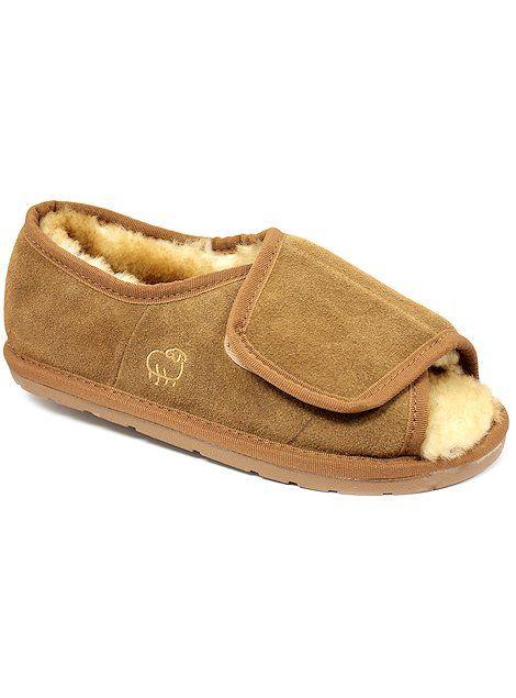 38864dc772acb Lamo Footwear Classic Mens Open Toe Wrap M1018 Chestnut