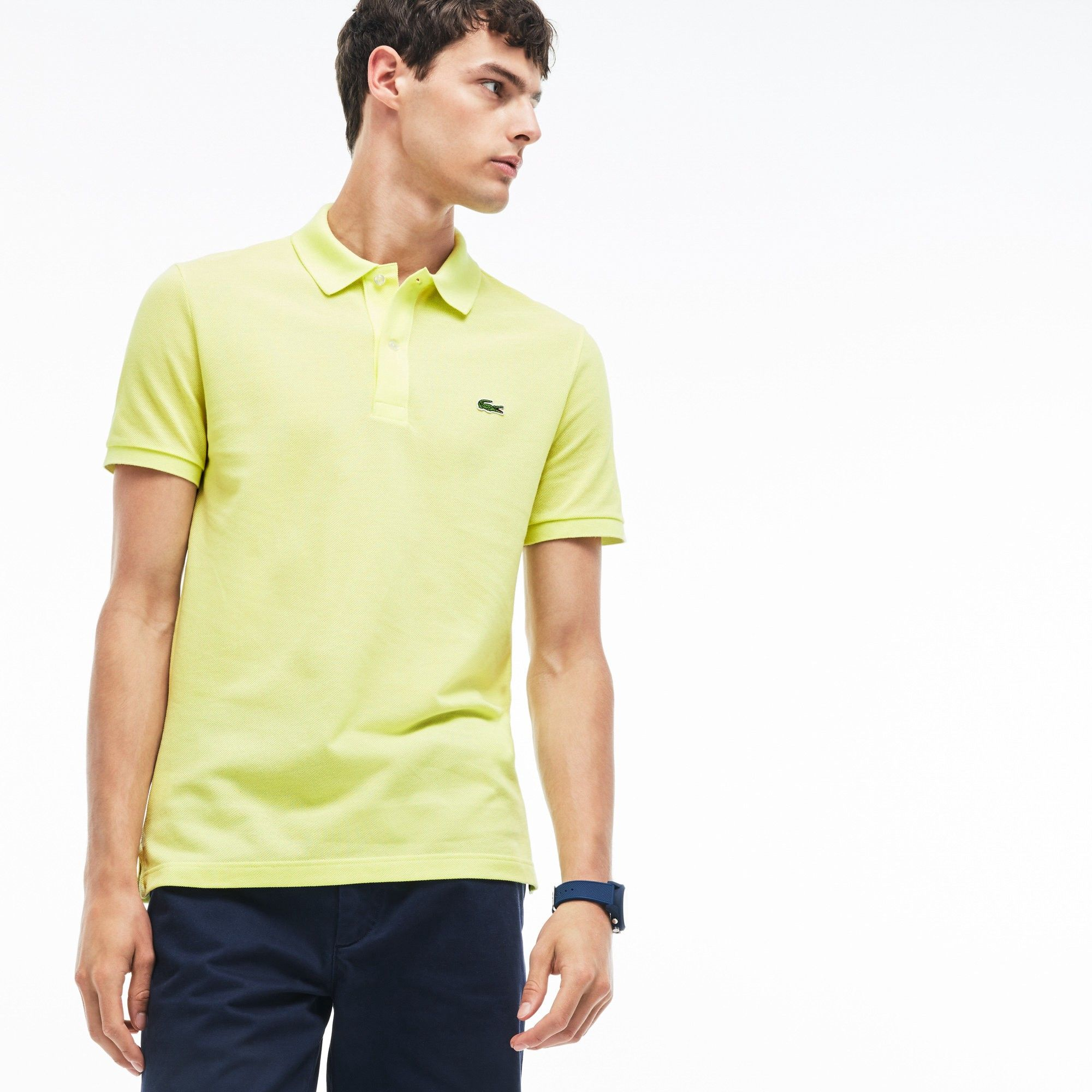 34e493e3e LACOSTE Men's Slim Fit Petit Piqué Polo Shirt - limeira. #lacoste #cloth #