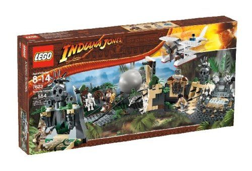 LEGO Indiana Jones Temple Escape @ niftywarehouse.com #NiftyWarehouse #IndianaJones #GeorgeLucas #HarrisonFord #Movies