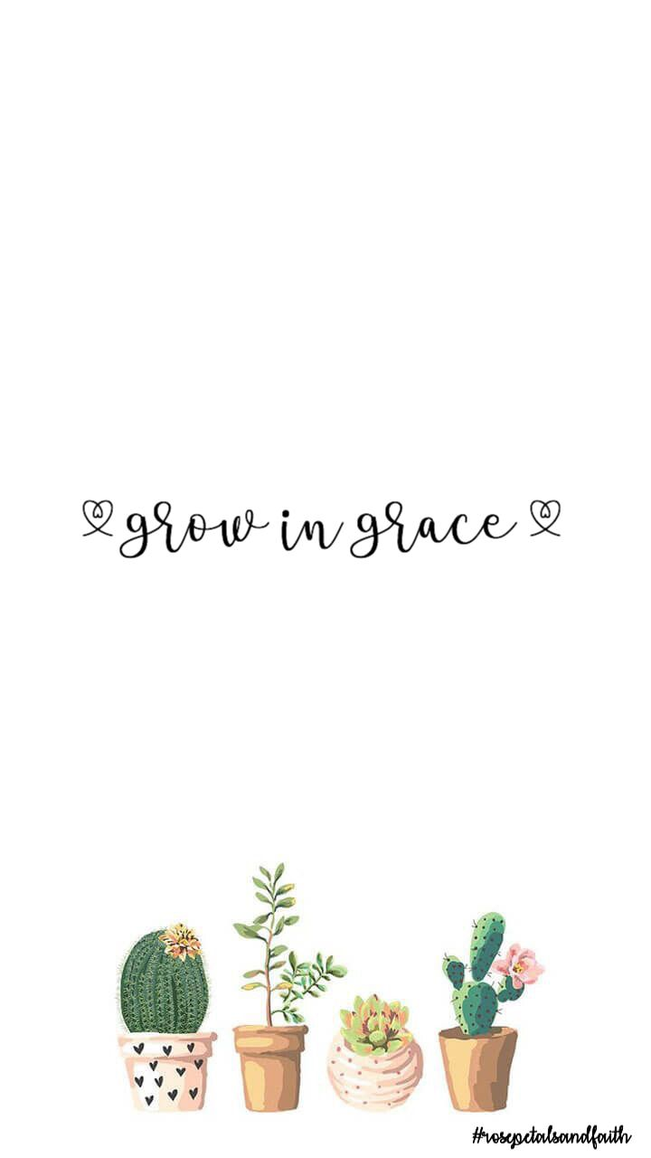 Grow In Grace Succulent Hearts So Girly And Cute Succulents Wallpaper Aesthetic Iphone Wallpaper Grow In Grace