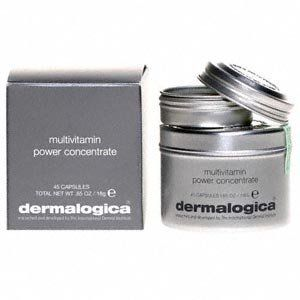 Multivitamin Power Concentrate by Dermalogica (45 ) by Dermalogica. $54.00. Help reduce the signs of premature aging at their start with this daily dose of topically-applied, pure vitamins. Regular use can actually help your skin recover from previous sun and free radical damage, ensuring optimum health for years to come. For external use only.