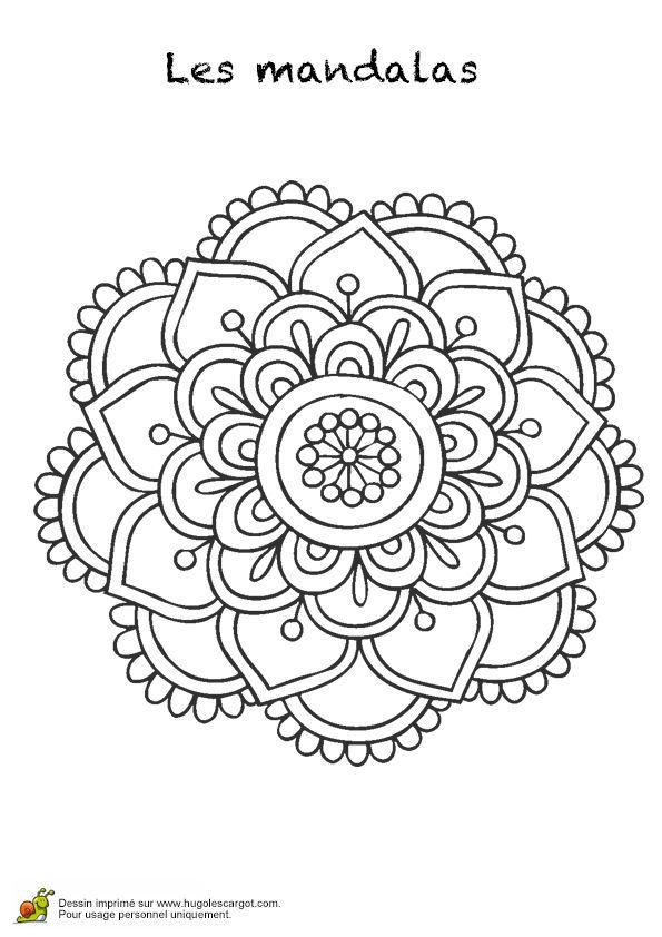 Dessin de mandalas a imprimer 38 mandala coloriage adulte via dessin de - Dessin de mandala a imprimer ...