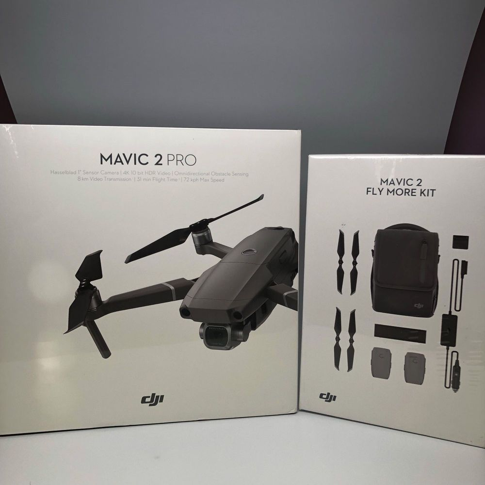 DJI Mavic 2 Pro with Fly More Combo Accessory Bundle With 2 Extra