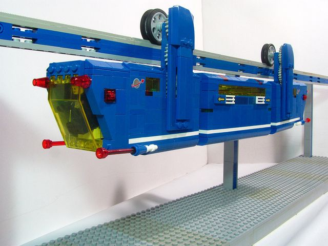 Lego Power Functions Suspended Monorail Lego