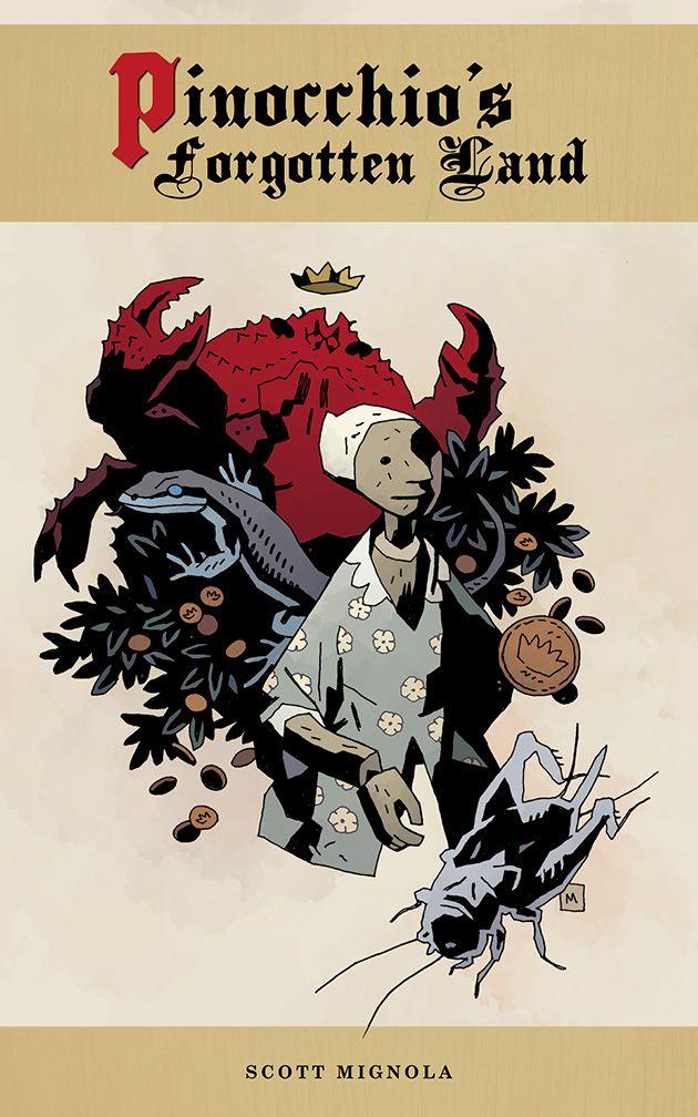The Mignola Brothers Talk 'Pinocchio' Obsession And Illustrated Sequel [Interview + Art]