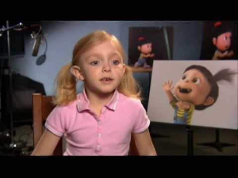 Interview with Elsie Fisher for Despicable Me