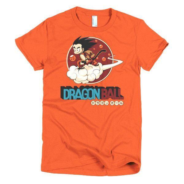 Super Saiyan Goku Girl Short Sleeve Shirt - PF00252WS