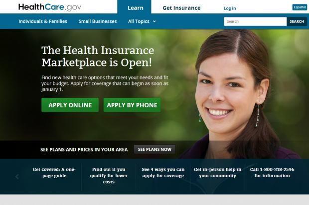 Healthcare Gov Web Portal To Health Insurance Marketplace