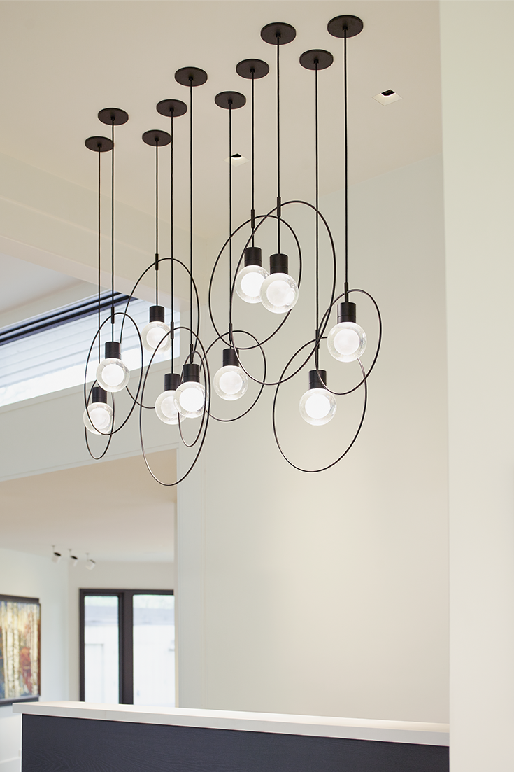 The Locus pendant light accessory from Tech Lighting is a