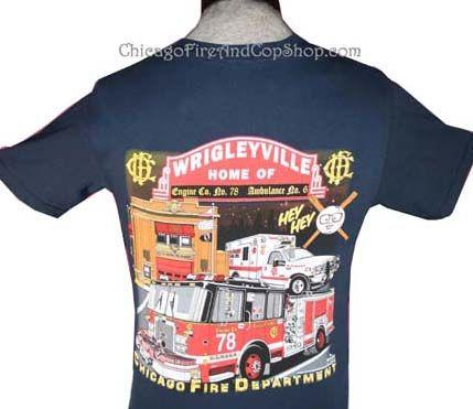 3034 Wrigleyville Engine Co 78 Chicagofireandcopshop Com Chicago