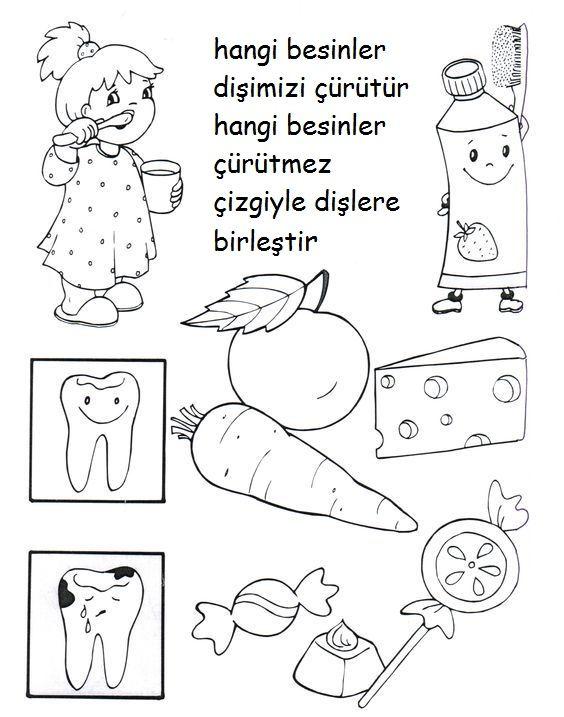 Diş Sağlığıdiş Sanat Etkinliğidiş Boyama Sayfasıdiş Etkinlikleri