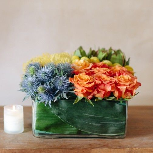 low square vase flower arrangements - Google Search & low square vase flower arrangements - Google Search   Centerpieces ...