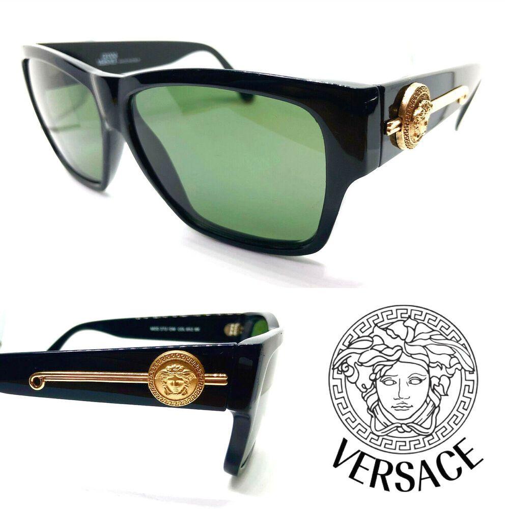 cc43c56d4c92a Gianni Versace Mod.372 DM Col.852 BK (G-15 Lenses) Vintage Sunglasses with  Case  affilink  vintagesunglasses  vintage
