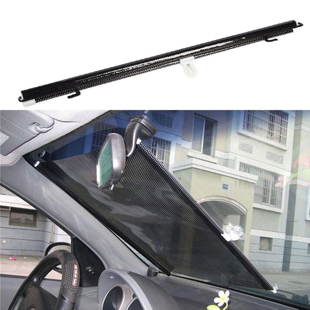 2 x Black Mesh Car Side Rear Window Sun Shade Cover Visor Screen Universal