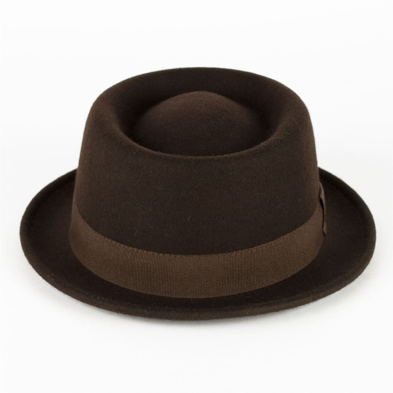 100% Wool Pork Pie Hat Waterproof   Crushable Handmade in Italy ... 58d77ea11df5