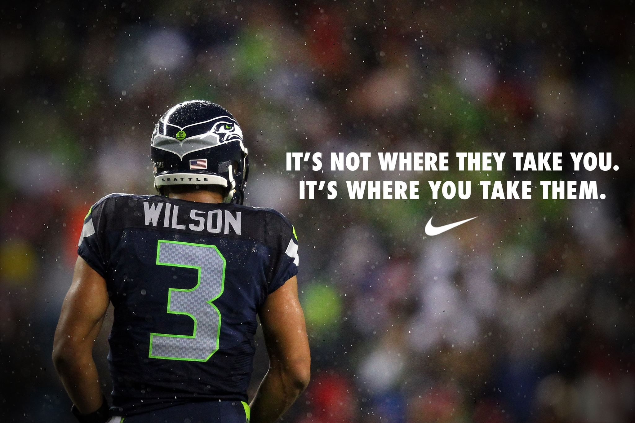 Nike Russell Wilson Ad