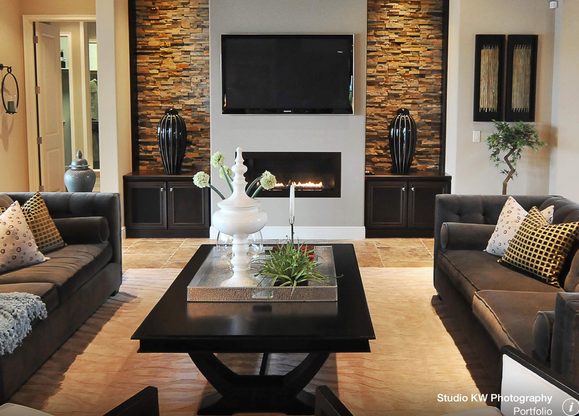 focal point fire place wall | my dream home spaces | pinterest