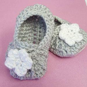 931daafff46871 Crochet baby sandals - Baby flip flops for Newborn to 12 Months ...