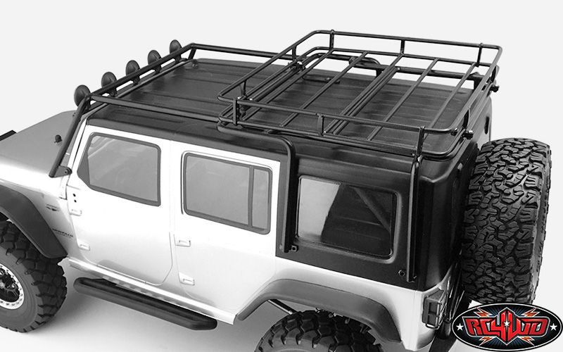 Metal Roof Rack For Axial Scx10 Wrangler W Roof Rack Lights Roof Rack 2015 Jeep Wrangler Unlimited Sport Metal Roof