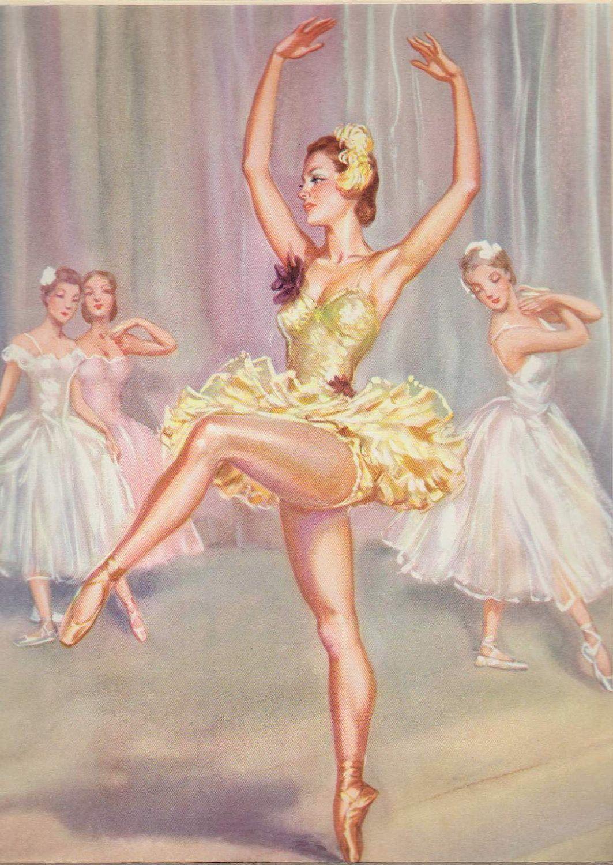 Beautiful Ballet Ballerina Andre Chevalier. | Ballet