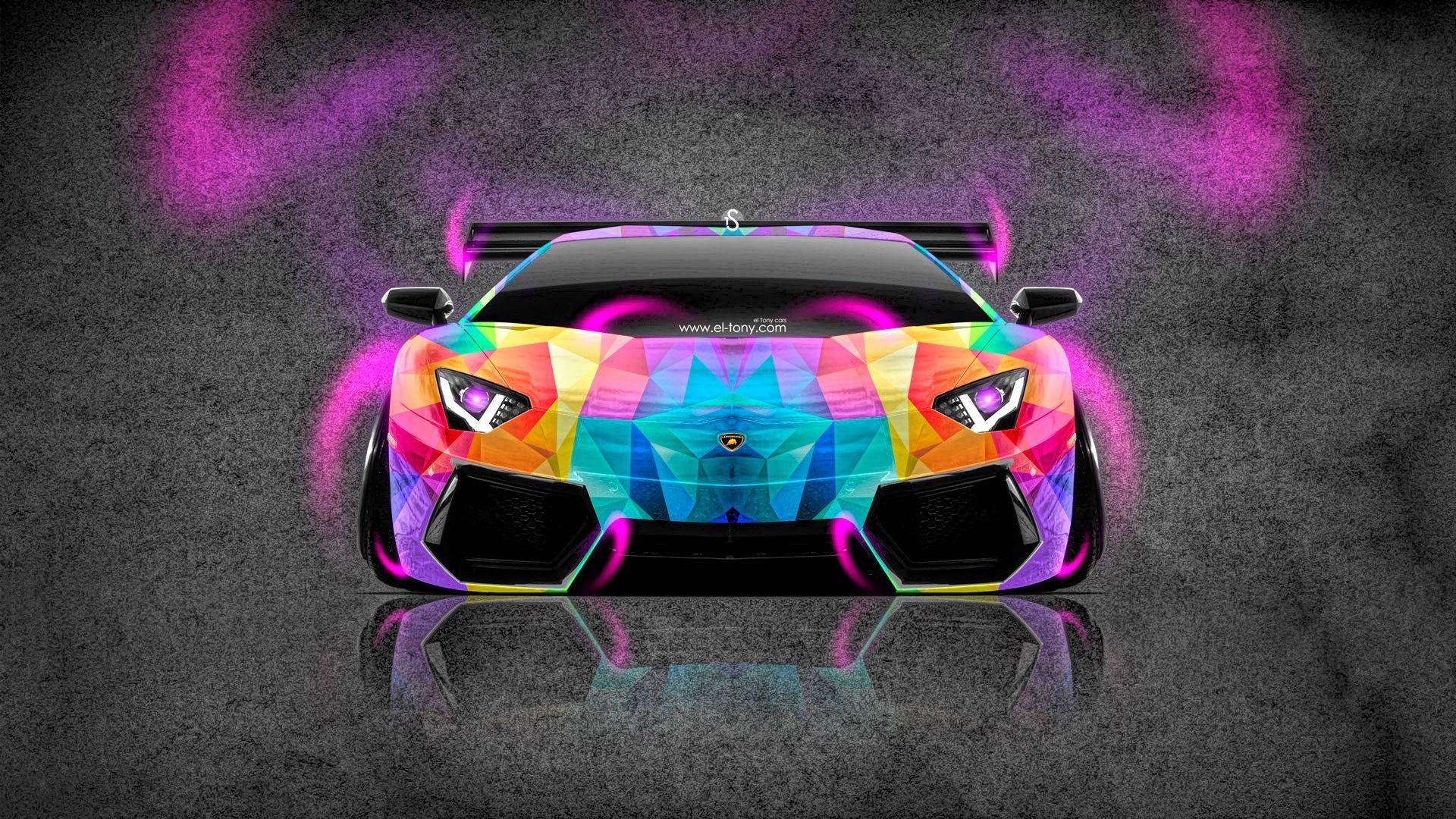 Neon Purple Lamborghini Wallpaper - osakayuku.com