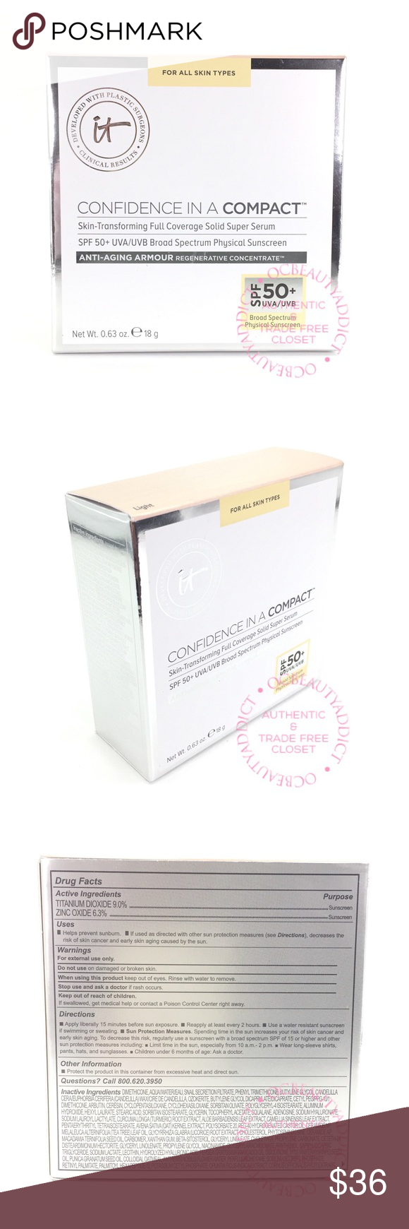 it Cosmetics Confidence іn a Compact - Light Confidence in..