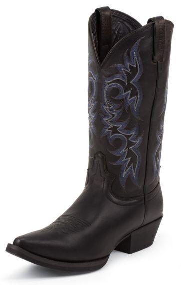 Justin Stampede Deertan Cowboy Boots