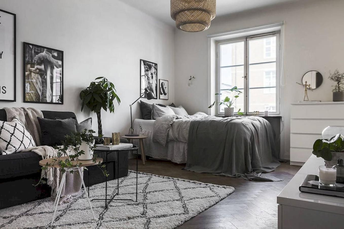 51 Cozy Studio Apartment Decorating On A Budget Ideas