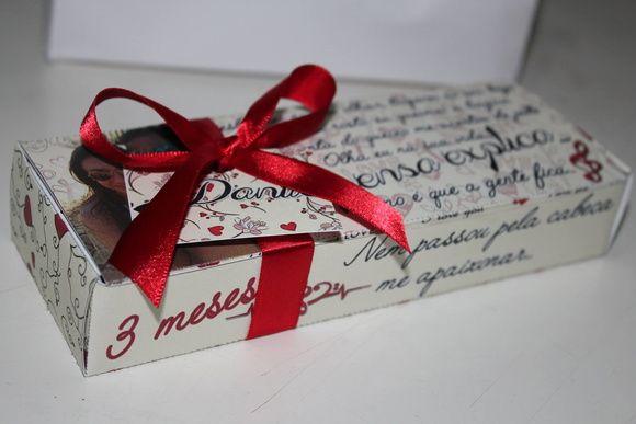 Caixa Personalizada Bis Caixa Chocolate Com Fotos Caixa De Bis