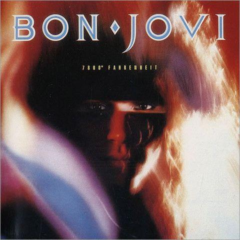 Bon Jovi 7800 Fahrenheit Vinyl Lp With Images Bon Jovi Album Bon Jovi Cool Album Covers