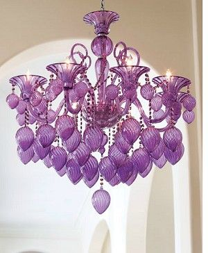 Cyan Design Bella Vetro Chandelier Aqua Blue Blown Glass