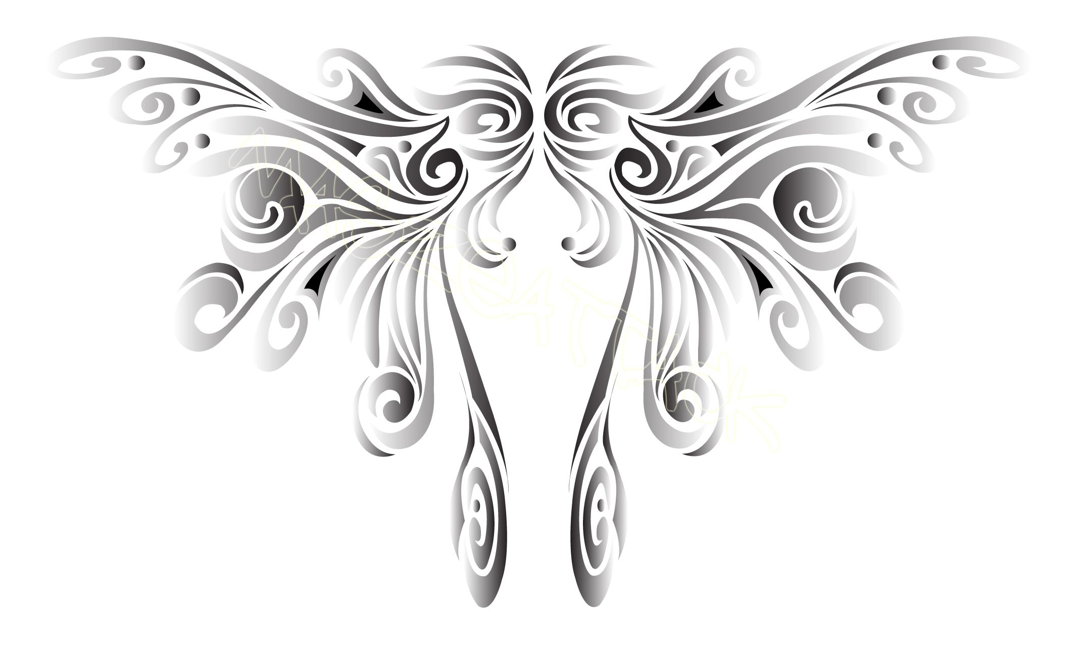 Wing tattoo design - Fairy Wing Tattoos Google Search