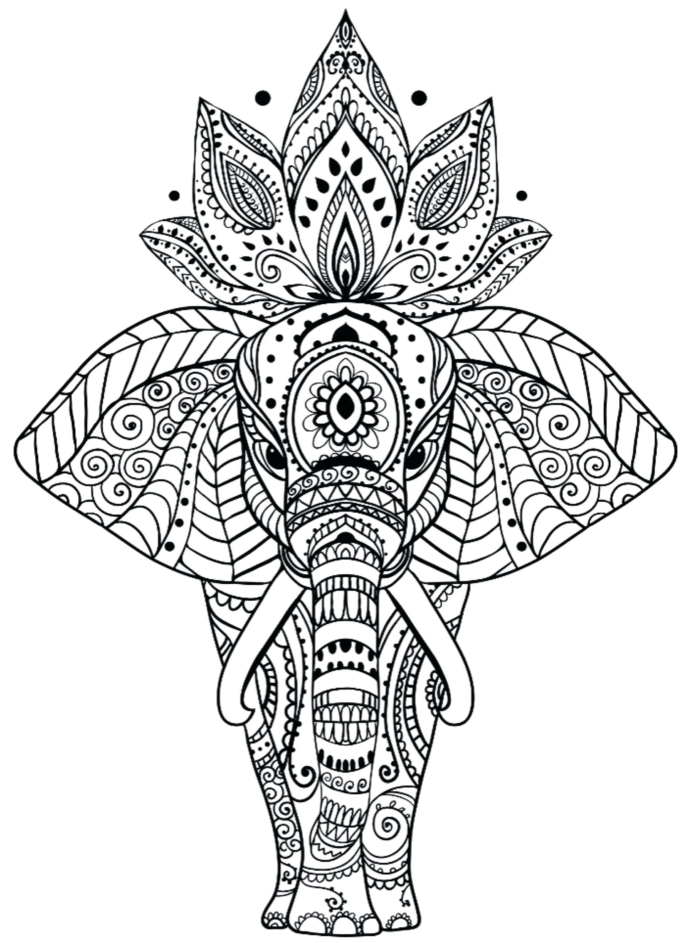Animal Mandala Coloring Pages New Free Printable Home Of Inside Best Elephant Coloring Page Mandala Coloring Pages Mandala Coloring