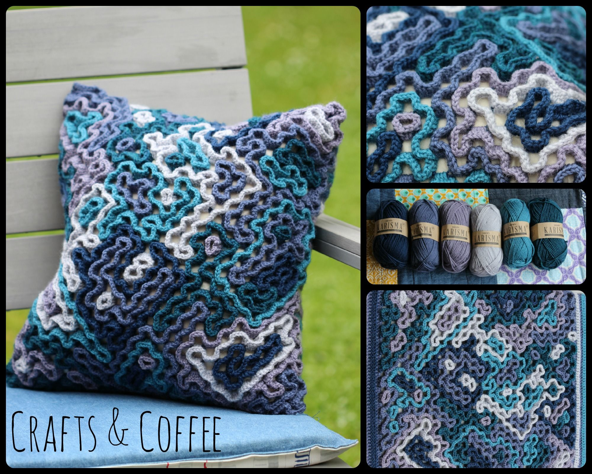 Wiggly crochet cushion tutorial wiggly crochet crochet cushions wiggly crochet cushion tutorial bankloansurffo Image collections