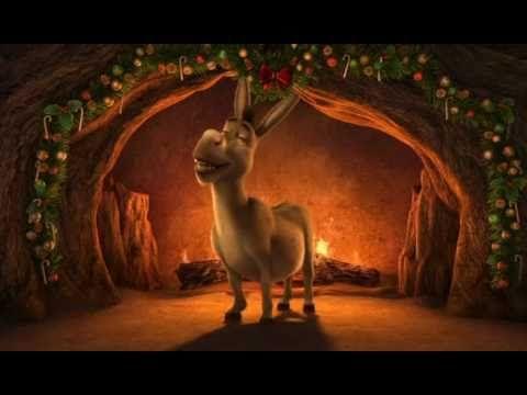 Shrek the Halls Yule Log video | Flicks and Jingles | Pinterest ...