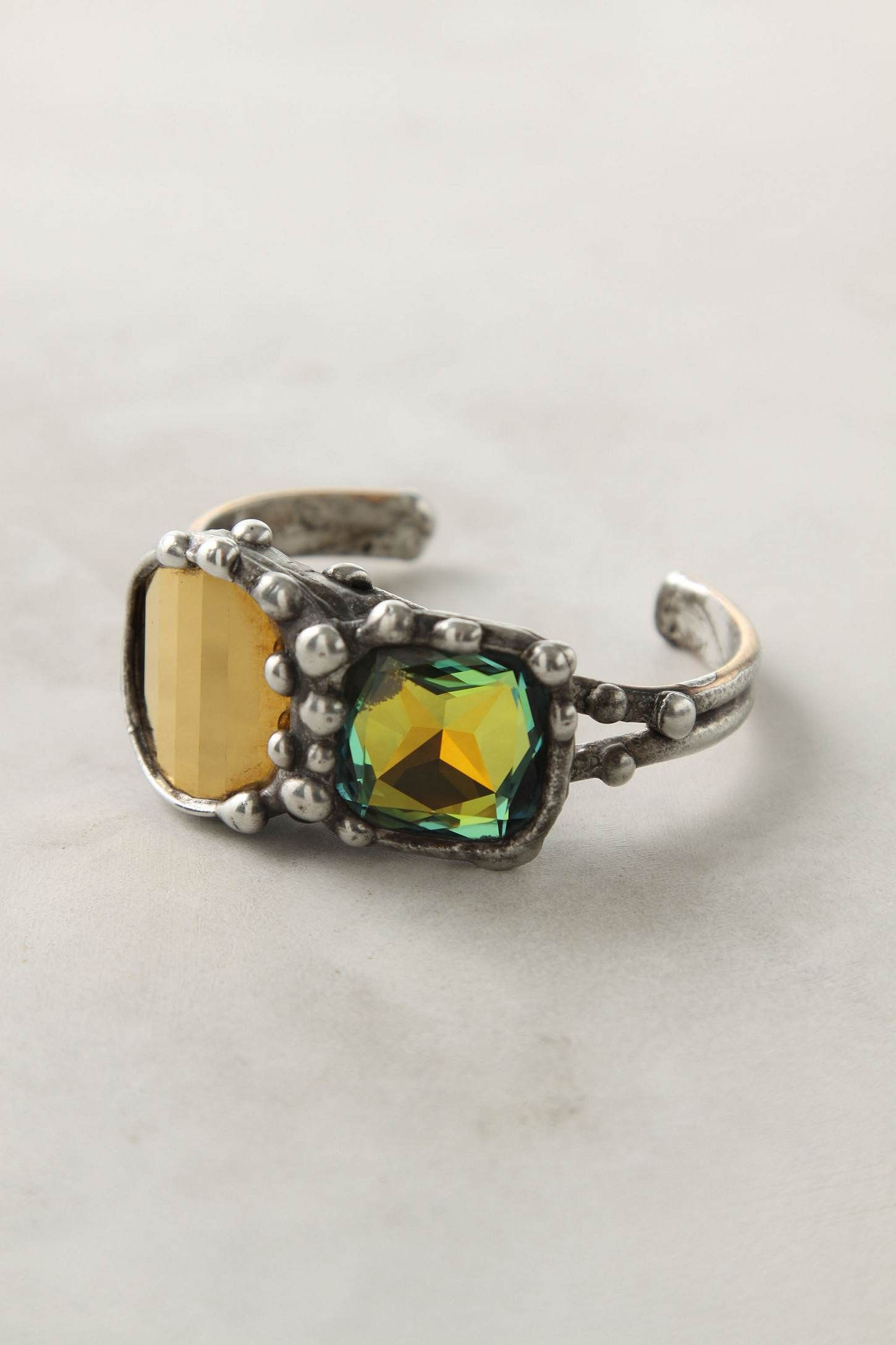 pooled gems cuff. anthropologie. $178.00