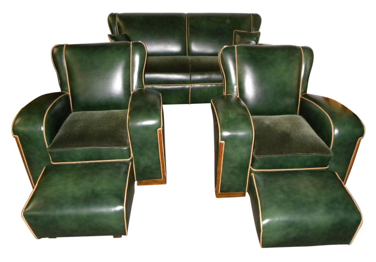 Art deco furniture for sale seating items art deco for Art deco meubilair