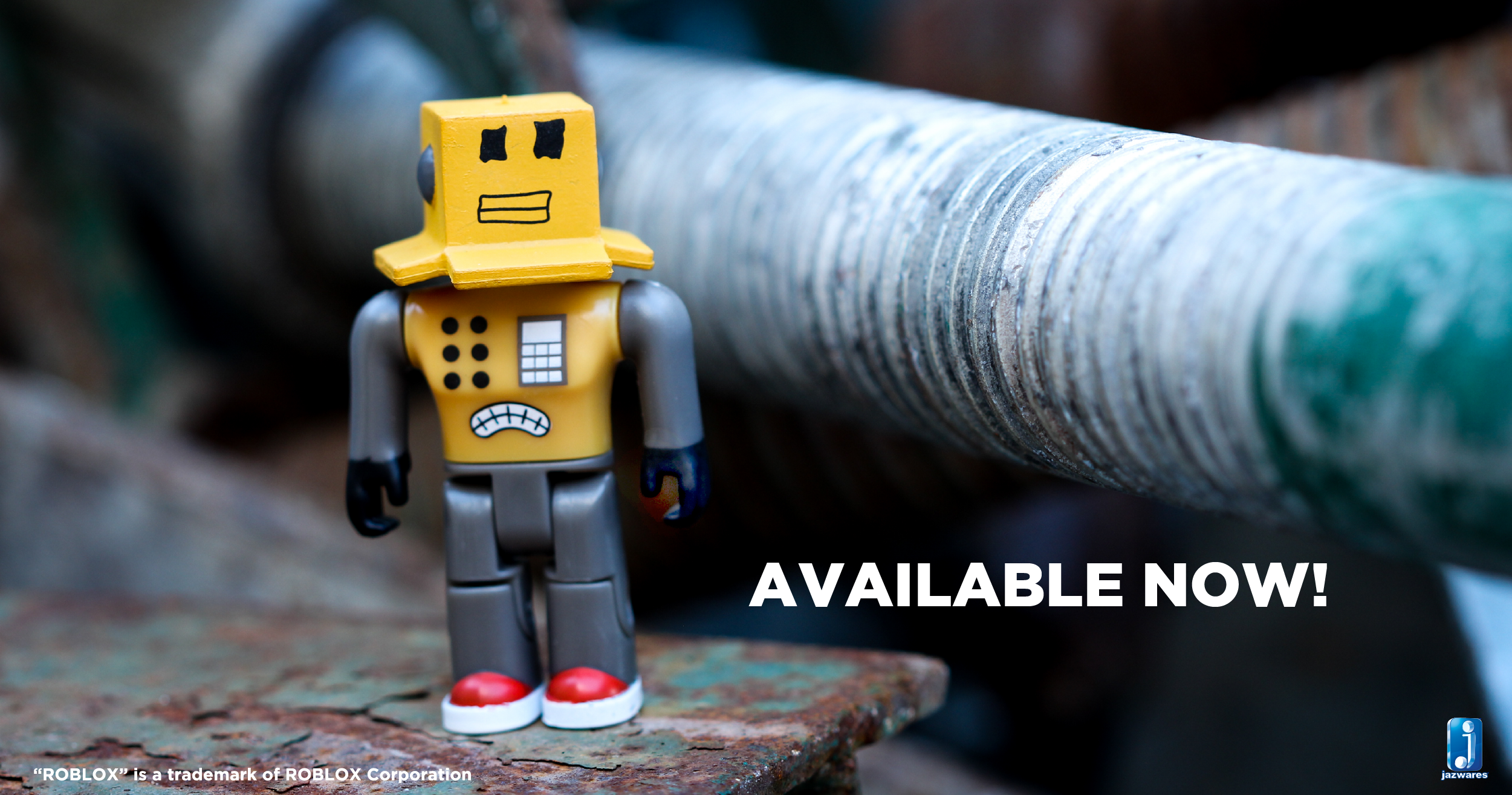 Roblox Robots Our Roblox Mr Robot Figure Is One Of The Many In Stores And Online Now In Our Series 1 Roblox Line Http Roblox Jazwares Roblox Usb Flash Drive Flash Drive