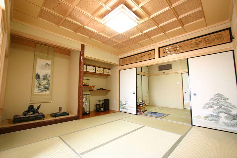 真壁納まりの純和風住宅 Japanese House Japanese Architecture