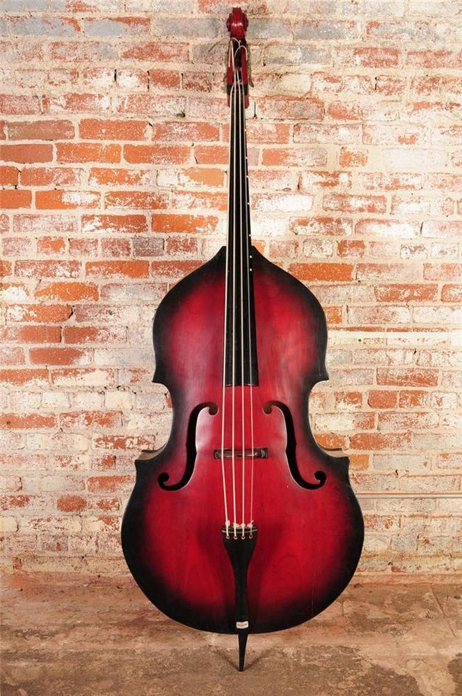 vintage double bass beautiful upright bass musical instrument nice music pinterest. Black Bedroom Furniture Sets. Home Design Ideas