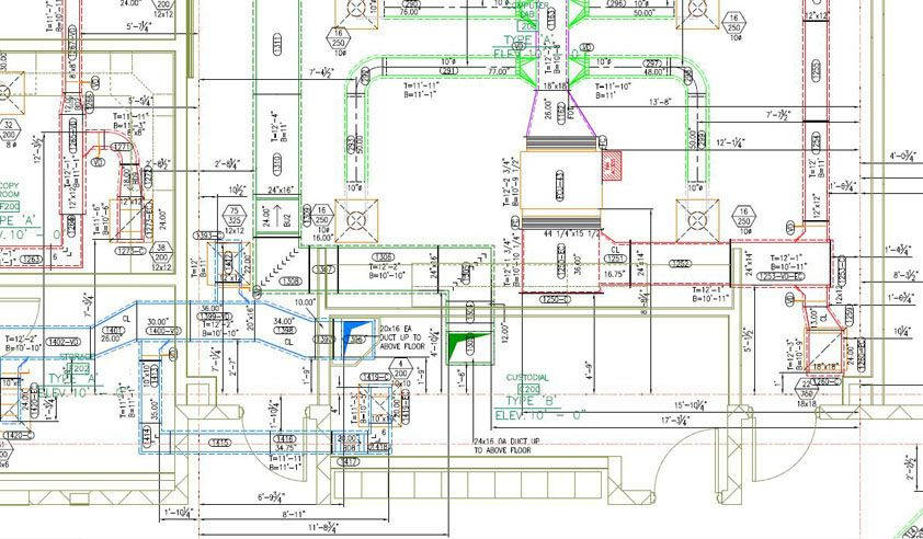 Hvac Shop Drawing Comments | Wiring Diagram