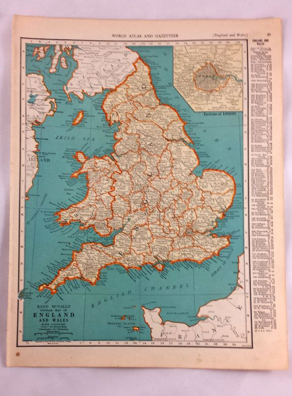 England scotland antique map vintage maps of england scotland england scotland antique map vintage maps of by lovedovetrading gumiabroncs Choice Image