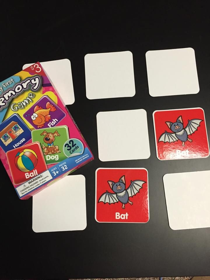 You Can Create Your Own Cards For This Memory Game Or Buy
