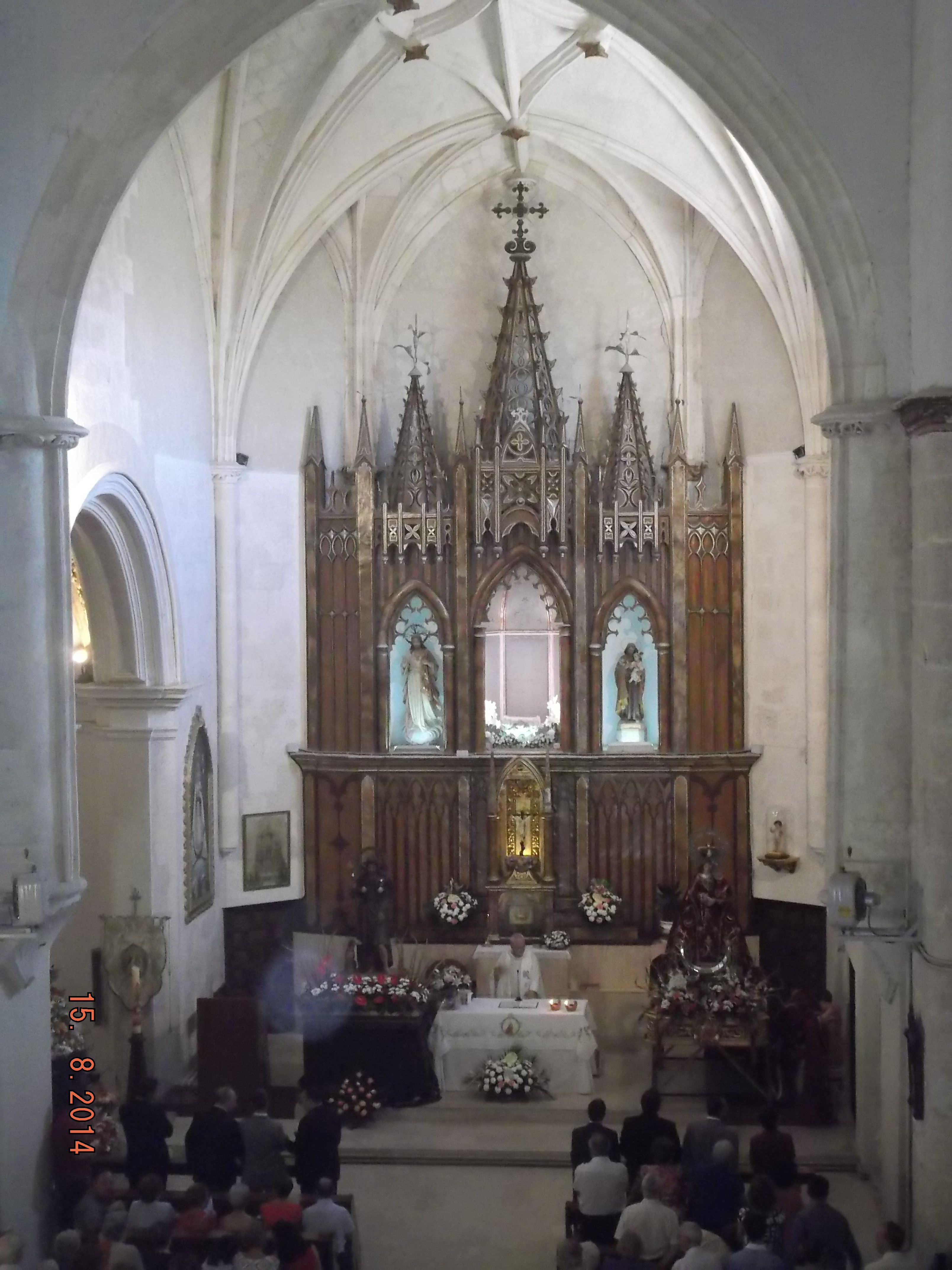 ALTAR MAYOR Templo, Altar