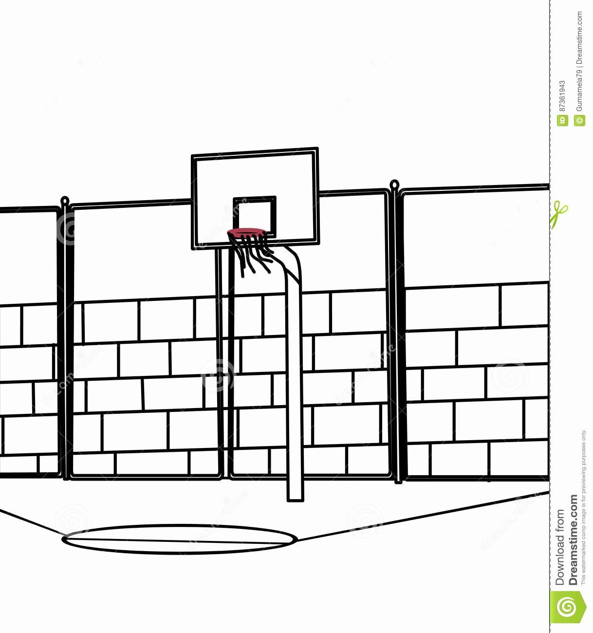 Coloring Pages Of Basketballs Lovely Of Basketball Court Coloring Pages Sabadaphnecottage Coloring Pages Sports Coloring Pages Color