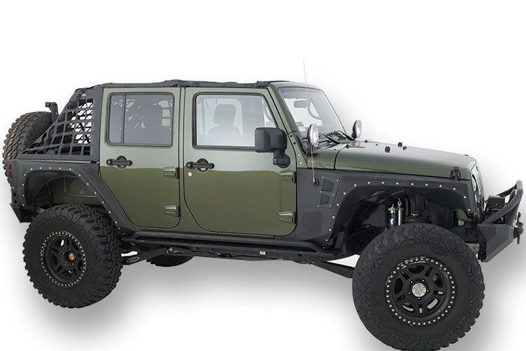 Smittybilt Jeep Wrangler Xrc Armor Front Fenders Autotrucktoys Com Jeep Wrangler Fenders Jeep Fenders Best