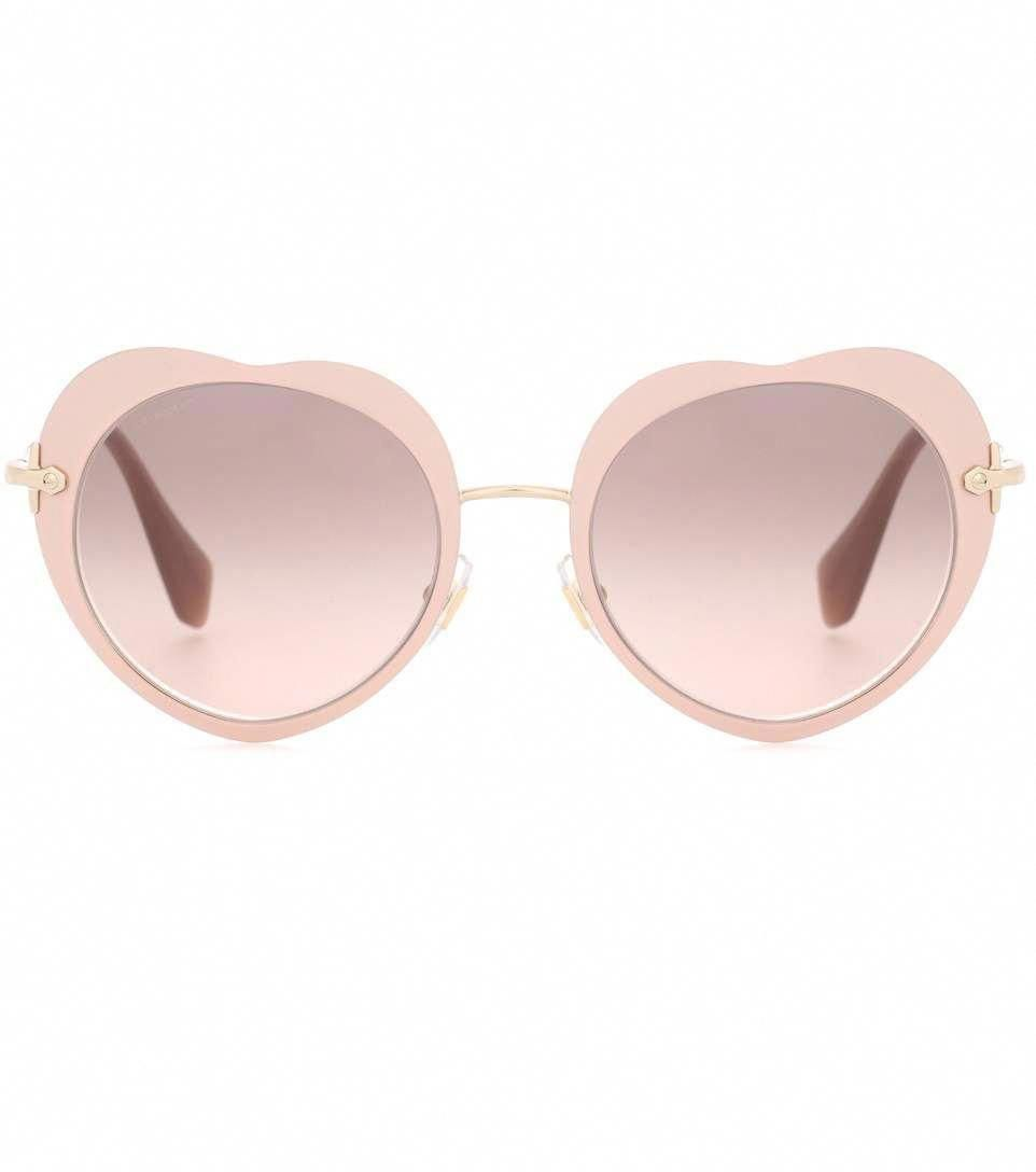2b8677f9fb3e MIU MIU Heart Sunglasses.  miumiu  sunglasses