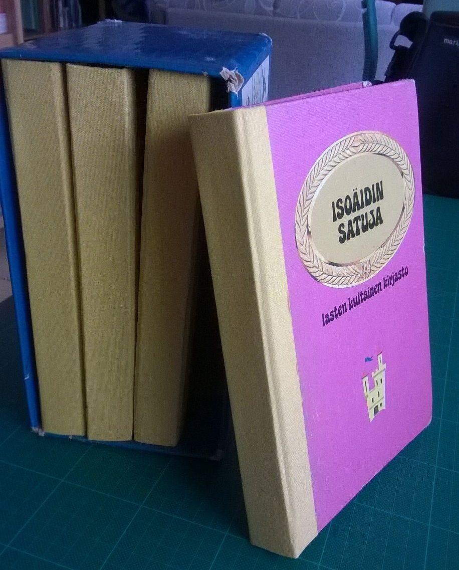 Lasten kultainen kirjasto sai jo kolmannet selät, näiden pitäisi kestää seuraavat 30 vuotta. 2015.